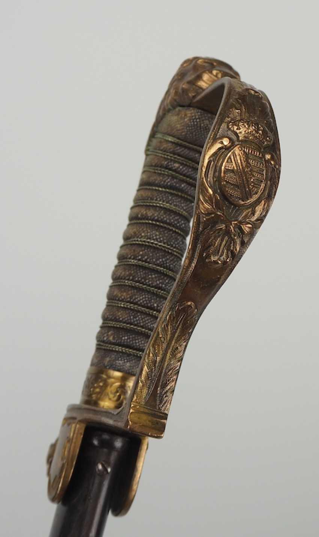 Lot 1426  Saxe: Artillerie de Sabre pour les Officiers
