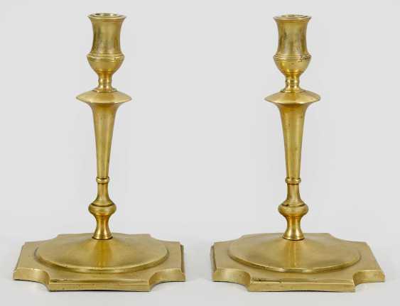Pair of large Renaissance candelabra - photo 1