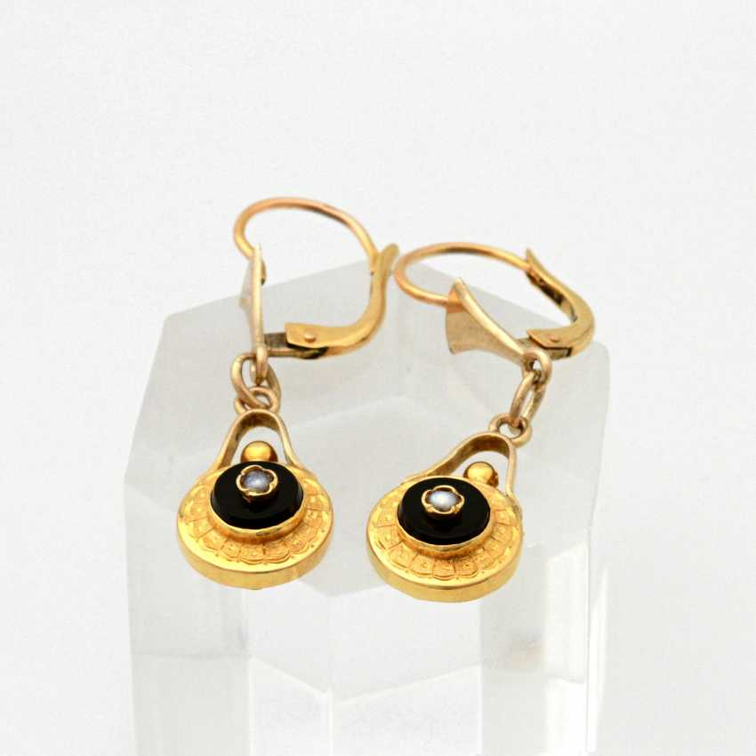 Set: 3 teilig, Gelbgold 18K, - photo 3