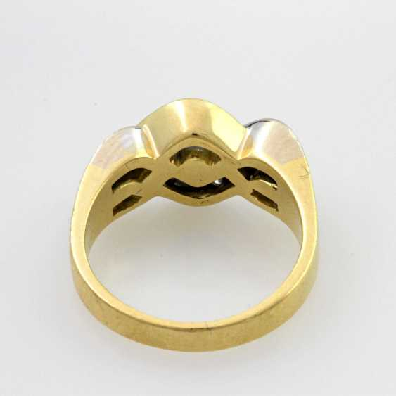 Damenring Gelbgold 18 K - photo 3