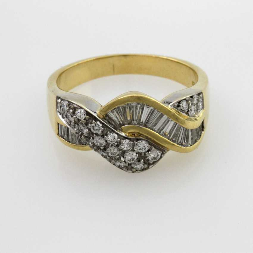 Damenring Gelbgold 18 K - photo 1