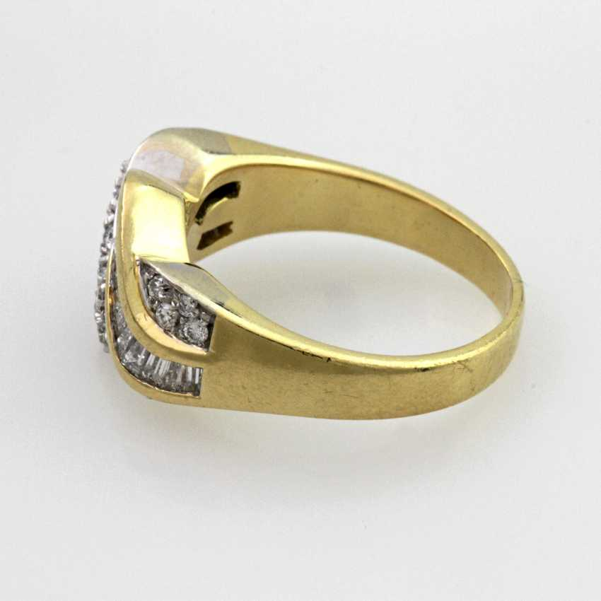 Damenring Gelbgold 18 K - photo 2