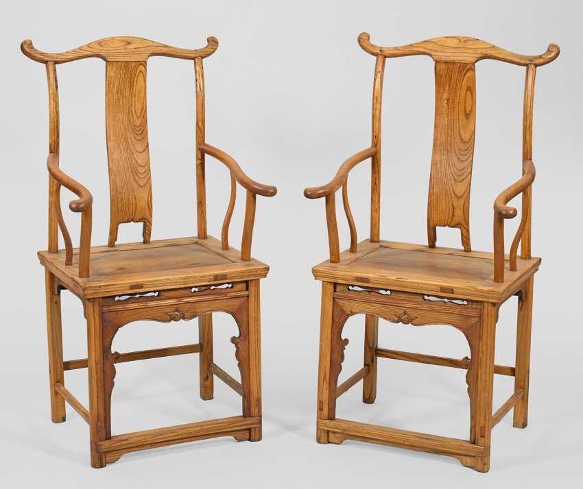 Some traditional Shanxi officials chairs - photo 1