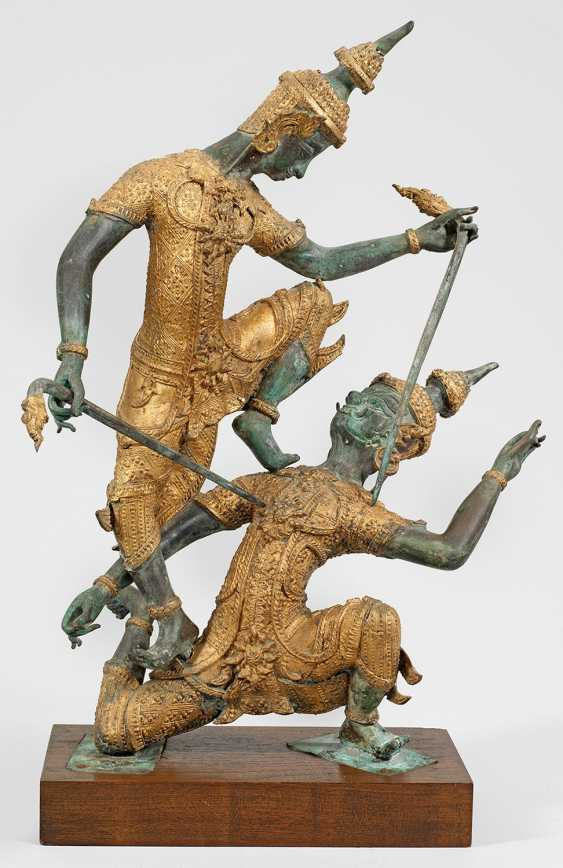 Two Thai Rama characters - photo 1