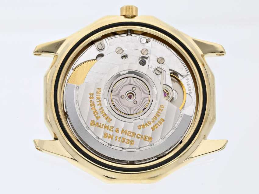 """Watch: a very luxurious and limited edition 18K Gold men's watch with full calendar, Baume & Mercier """"Riviera Complications Triple Date"""", limited, no 005/499 - photo 2"""