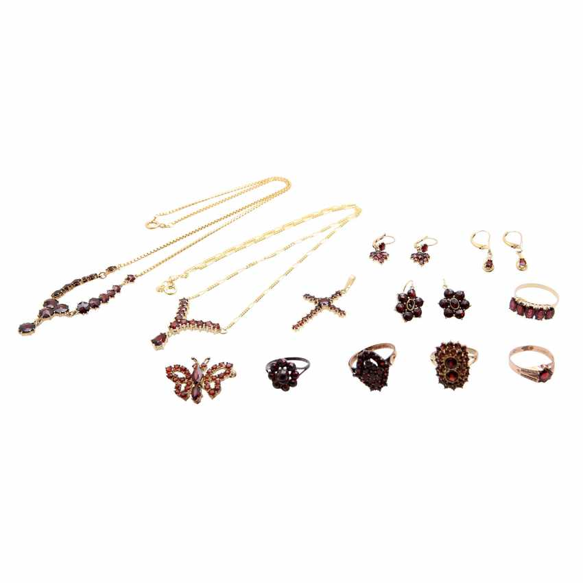 Jewelry mixed lot of 12 pieces, - photo 1