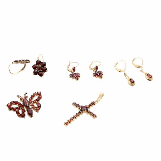 Jewelry mixed lot of 12 pieces, - photo 4