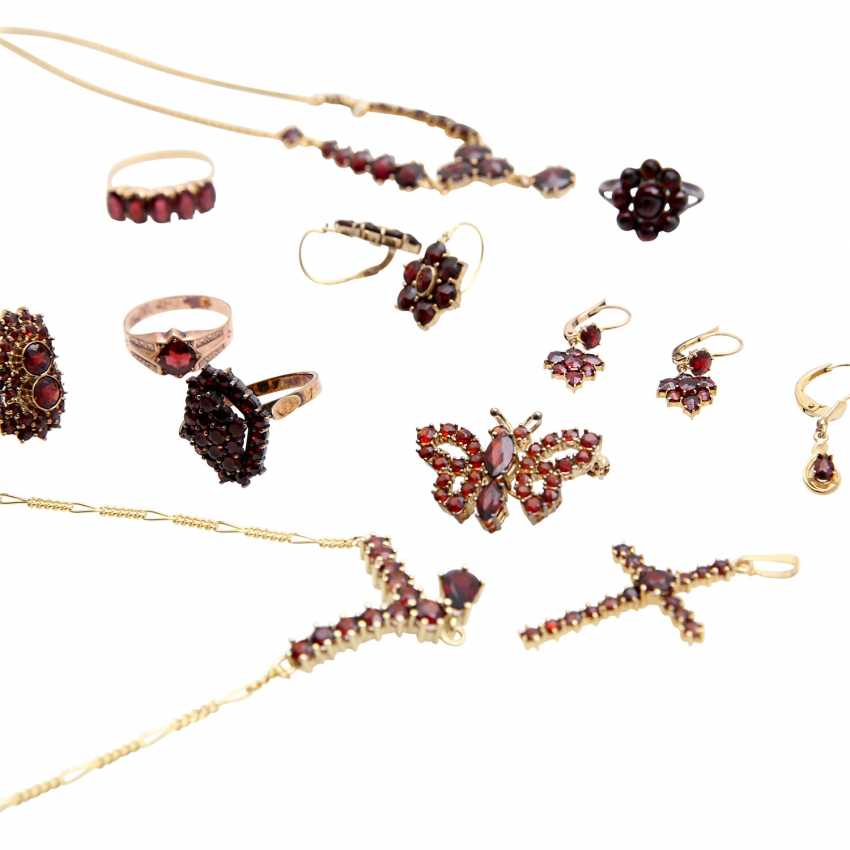 Jewelry mixed lot of 12 pieces, - photo 5
