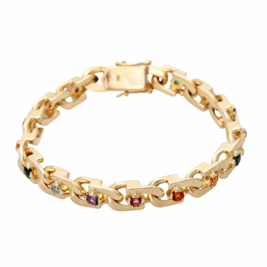 Bracelet with stone trim, multicolor, - photo 1