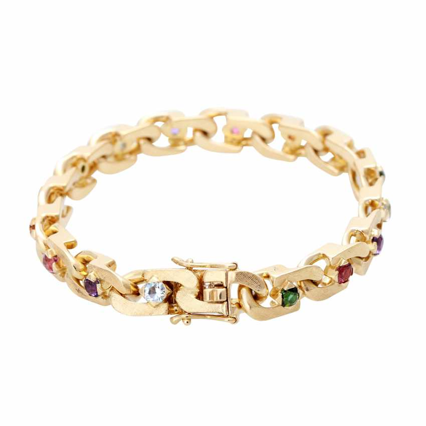 Bracelet with stone trim, multicolor, - photo 2