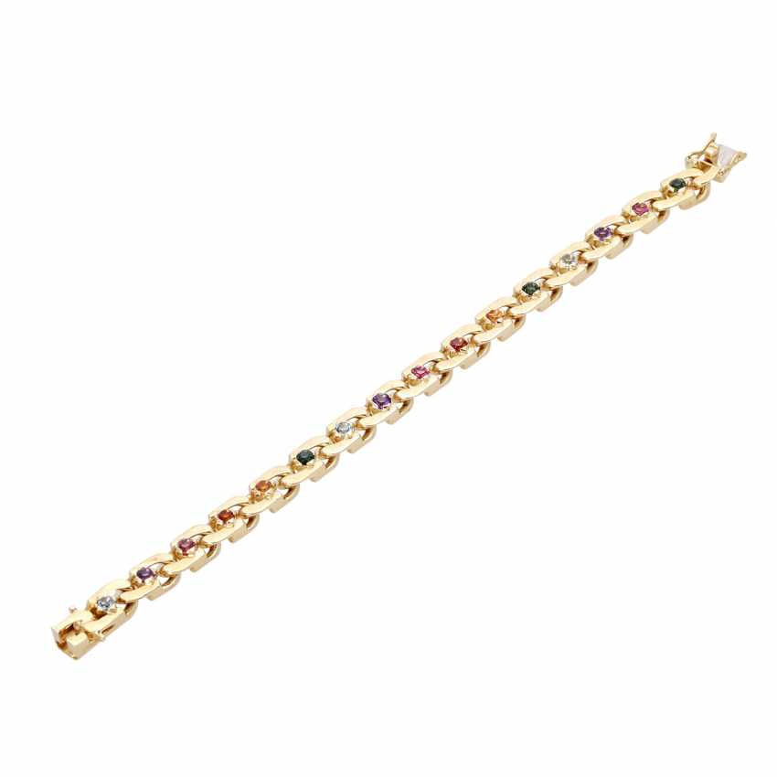 Bracelet with stone trim, multicolor, - photo 3