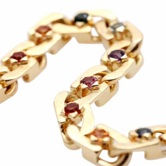 Bracelet with stone trim, multicolor, - photo 4