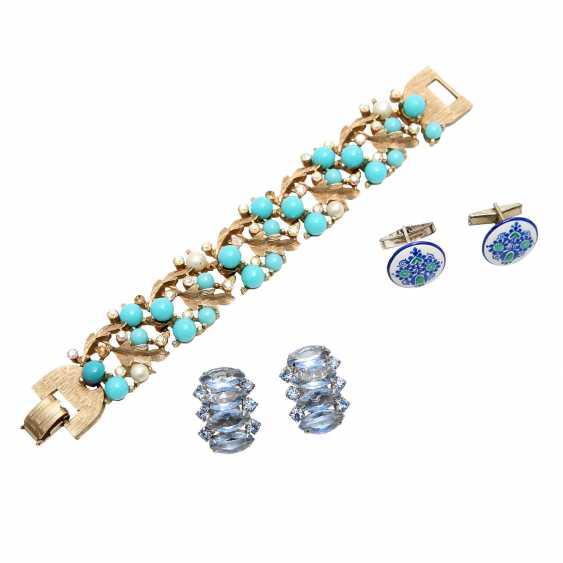 Fashion jewelry vintage, 8-piece: - photo 4