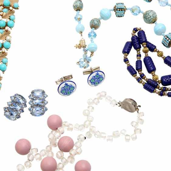 Fashion jewelry vintage, 8-piece: - photo 5