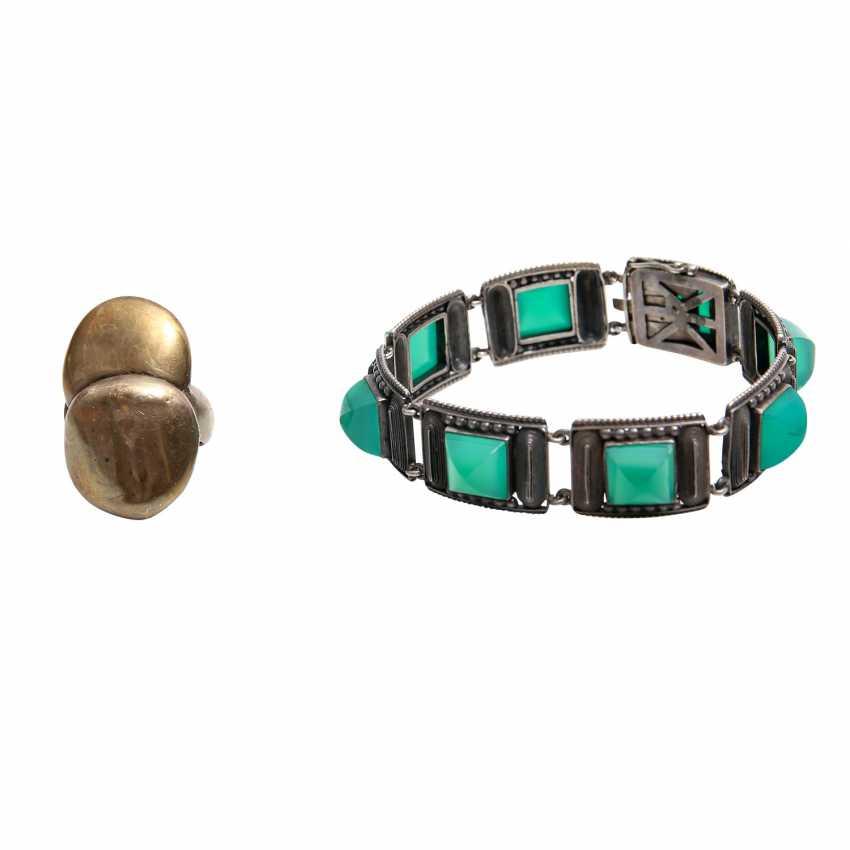 Fashion jewelry mixed lot, 5-piece: - photo 3