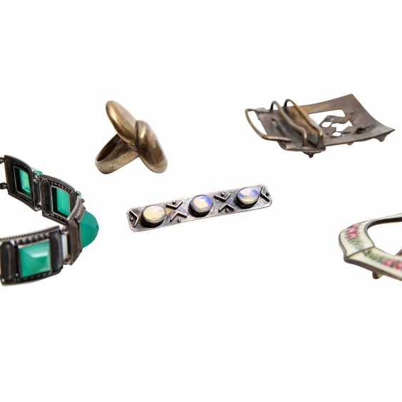 Fashion jewelry mixed lot, 5-piece: - photo 4