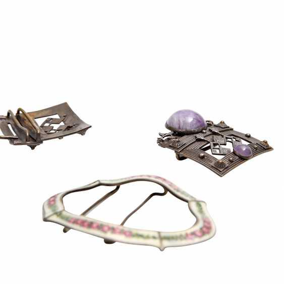 Fashion jewelry mixed lot, 5-piece: - photo 5