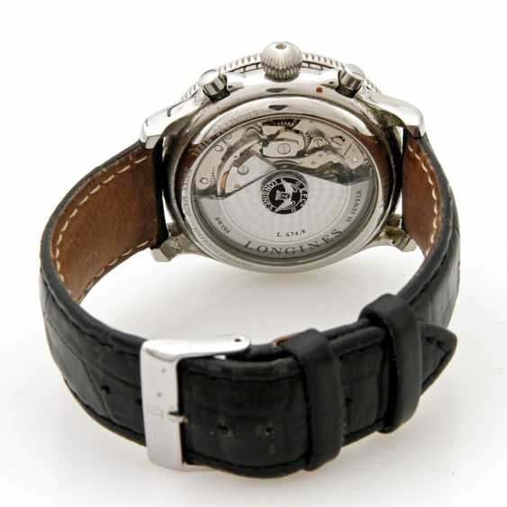 "LONGINES, ""Lindbergh"" watch, - photo 4"