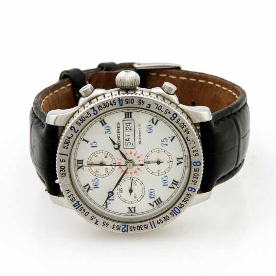 "LONGINES, ""Lindbergh"" watch, - photo 1"