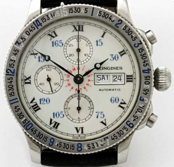 "LONGINES, ""Lindbergh"" watch, - photo 2"
