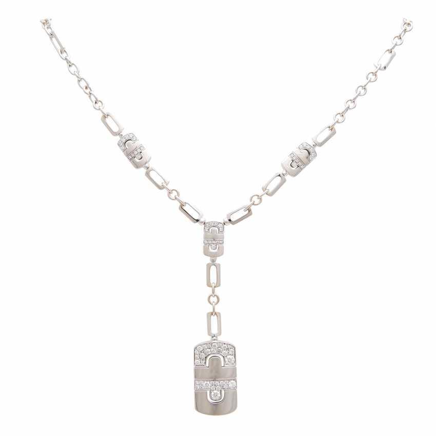 BULGARIAN Y-necklace with brilliant trim, - photo 1