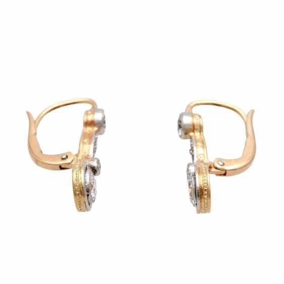 Earrings with diamonds - photo 2