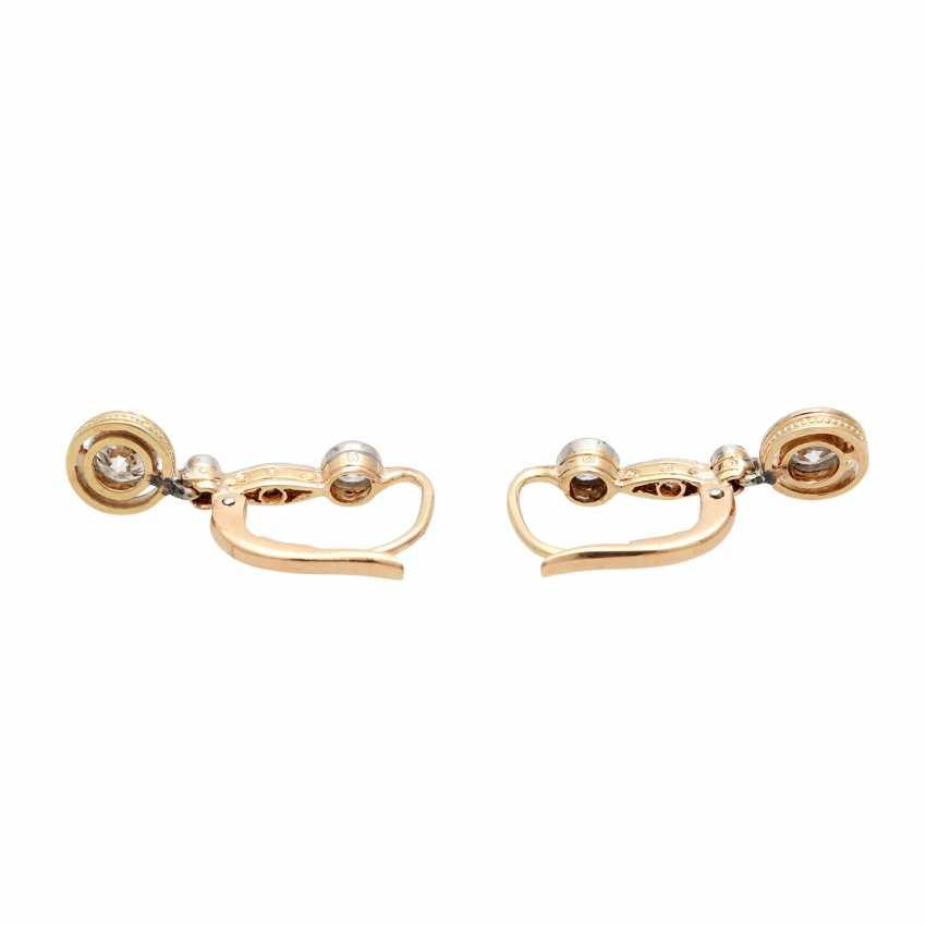 Earrings with diamonds - photo 4