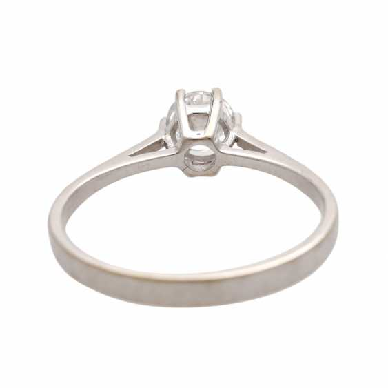 Engagement ring with brilliant approx 0,47 ct (grav.) - photo 4