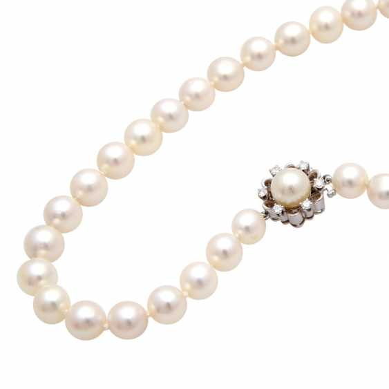 Necklace of Akoya cultured pearls in history - photo 5