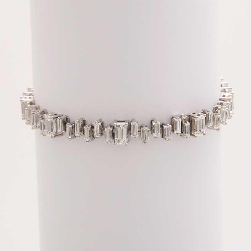 Bracelet made of diamonds - photo 2