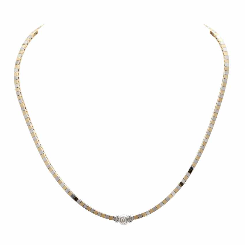 Collier mit 1 Brillant ca. 0,25 ct - photo 1