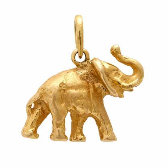 "Pendant ""Elephant"", - photo 1"