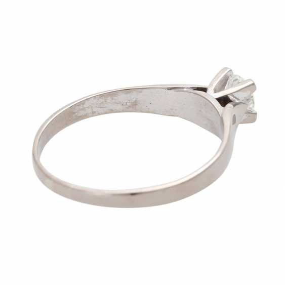 Engagement ring, approx 0.35 ct., FW-W (G-H)/ VVS-VS - photo 3