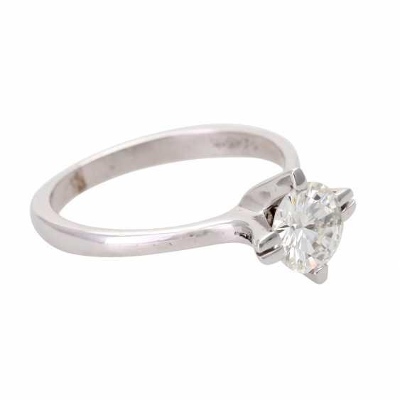 Engagement ring, brilliant 0,984 ct., VS/ W (H) - photo 2