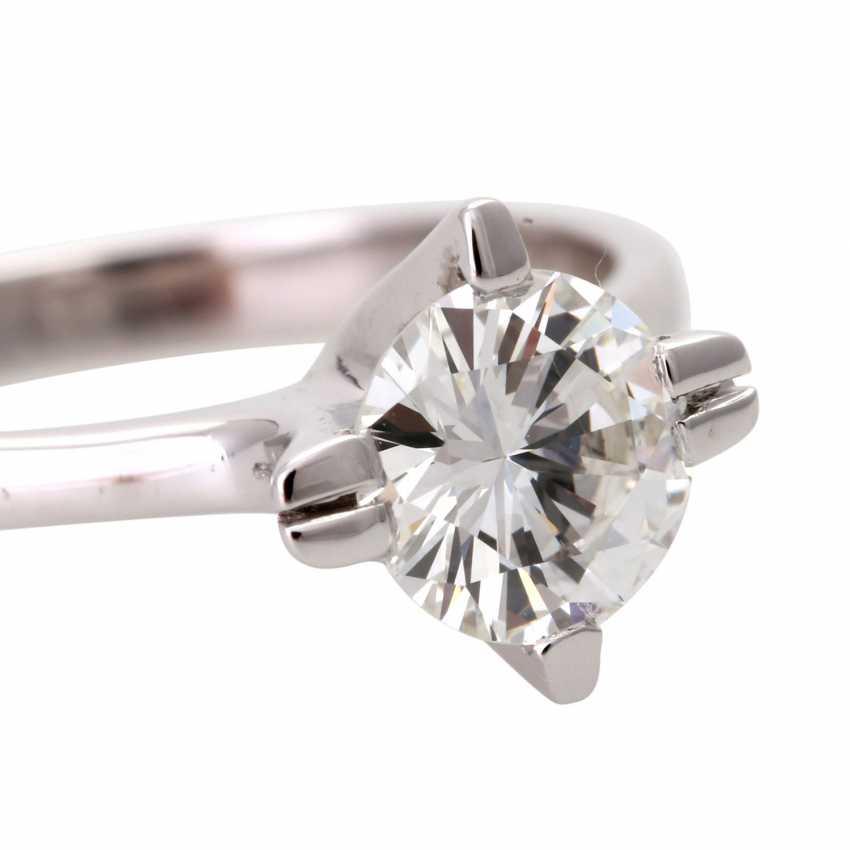 Engagement ring, brilliant 0,984 ct., VS/ W (H) - photo 5