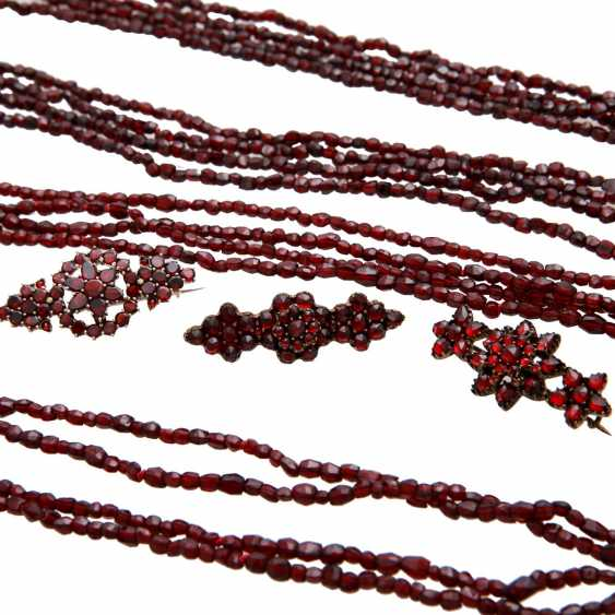 Group Of Garnet Jewelry - photo 5