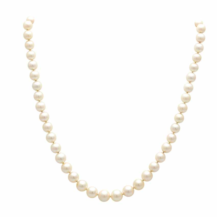 Necklace made of cultured pearls in the history, - photo 1