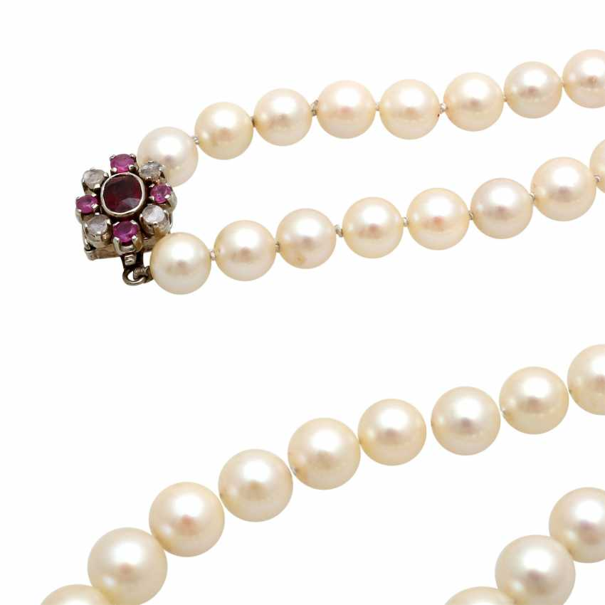 Necklace made of cultured pearls in the history, - photo 5