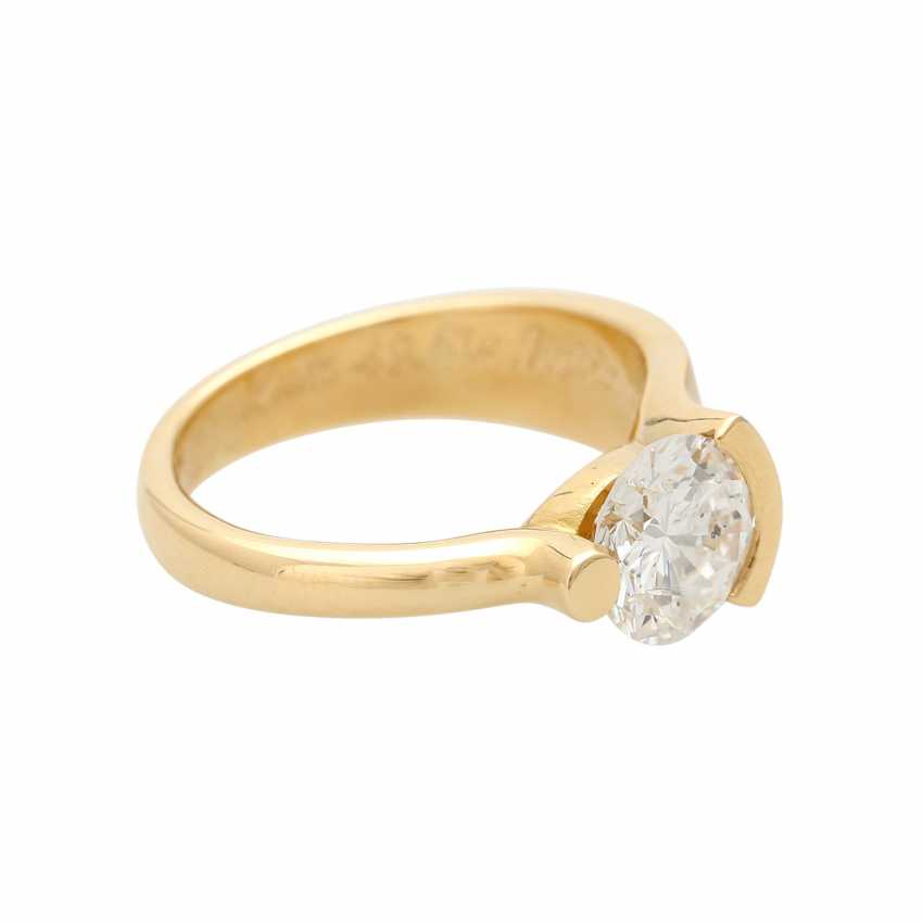 Engagement ring with brilliant, approximately 2,17 ct, - photo 2