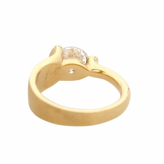 Engagement ring with brilliant, approximately 2,17 ct, - photo 4