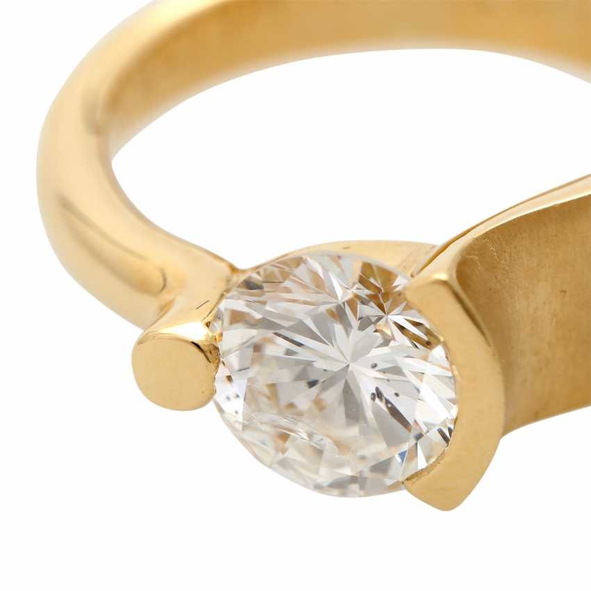 Engagement ring with brilliant, approximately 2,17 ct, - photo 5
