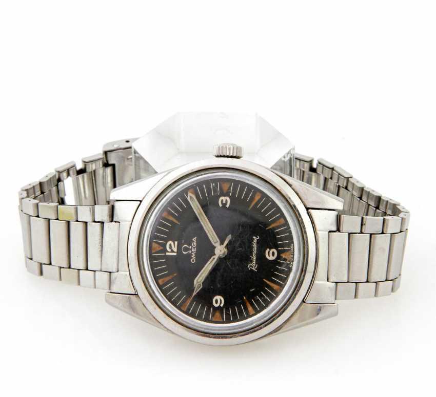 "OMEGA men's watch ""Railmaster"", - photo 1"