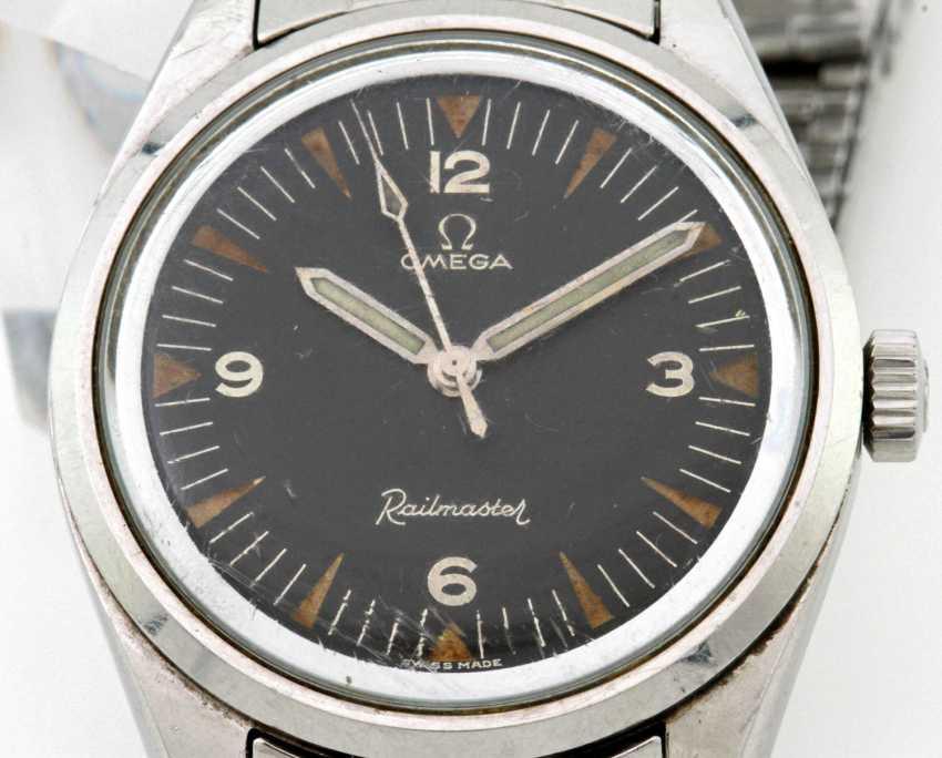 "OMEGA men's watch ""Railmaster"", - photo 2"