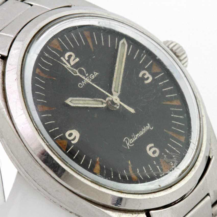 "OMEGA men's watch ""Railmaster"", - photo 3"