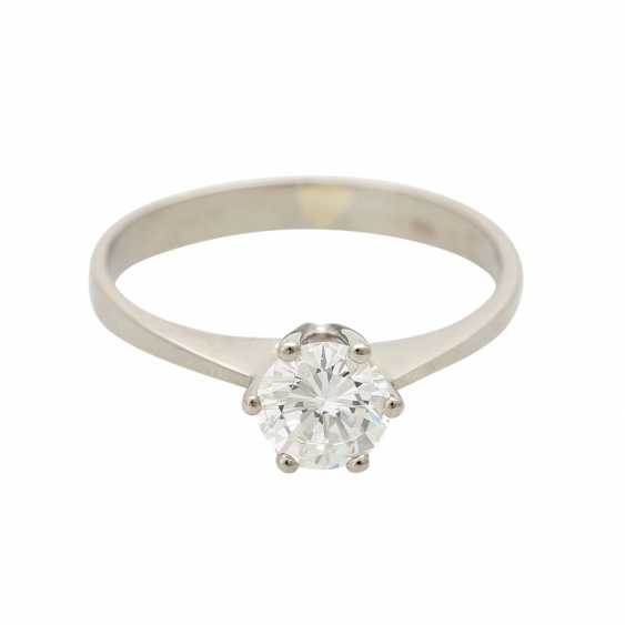 Brilliant engagement ring approx. 0,65 ct, V, VS, W (H) - photo 1