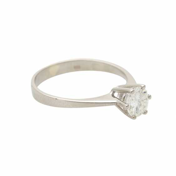 Brilliant engagement ring approx. 0,65 ct, V, VS, W (H) - photo 2