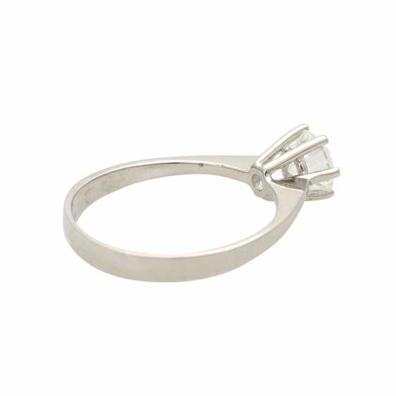 Brilliant engagement ring approx. 0,65 ct, V, VS, W (H) - photo 3
