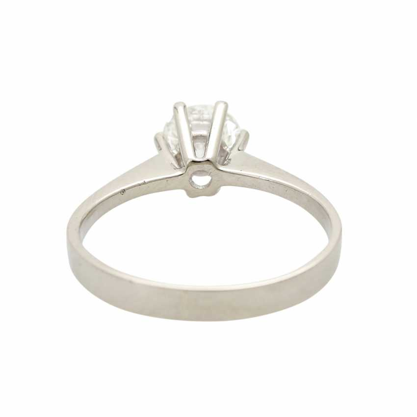 Brilliant engagement ring approx. 0,65 ct, V, VS, W (H) - photo 4