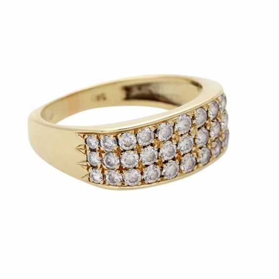 Ladies ring studded with 33 diamonds - photo 2