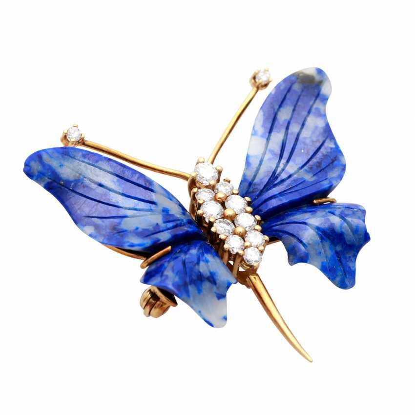 """Brooch """"Butterfly"""" - photo 3"""